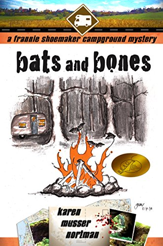 Book: Bats and Bones (The Frannie Shoemaker Campground Mysteries) by Karen Musser Nortman
