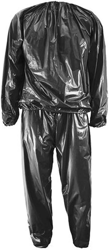 S-4XL Saunaanzug Saunasuit Schwitzanzug Damen Herren Sauna Suit Fitness!
