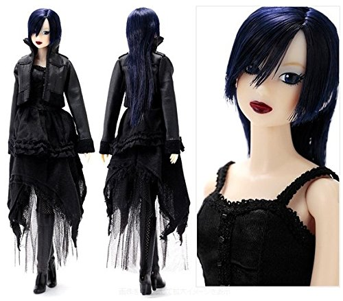 [Pre order Momoko Doll Gothic created by people like you! New] (Thumbelina Wig)