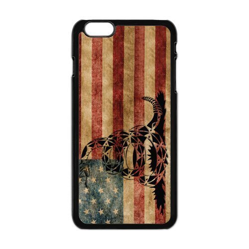 Grove 1996 Store iPhone 6 Cases, Don't Tread On Me Hard Snap Case for iPhone 6 - Hard Plastic Case ()