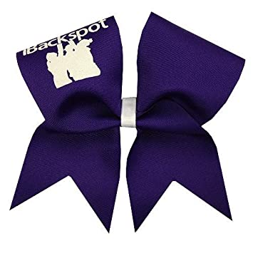 amazon new ibackspot cheer bow purple by chosen bows 並行輸入品