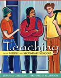 img - for Teaching in the Middle and Secondary Schools (10th Edition) book / textbook / text book