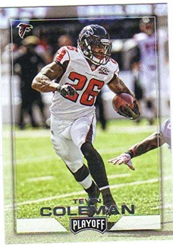 2016 Panini Playoff #11 Tevin Coleman Atlanta Falcons NFL Football Trading Card