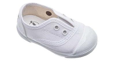 Zapatillas de lona para niños y niñas unisex, mod.150. Calzado infantil Made