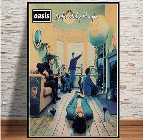 Impresiones Oasis Rock Musica Decoración Rockera