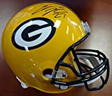 EDDIE LACY AUTOGRAPHED GREEN BAY PACKERS FULL SIZE HELMET PSA/DNA STOCK #89146