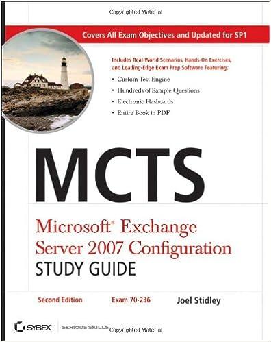 Exchange Server Pdf Books