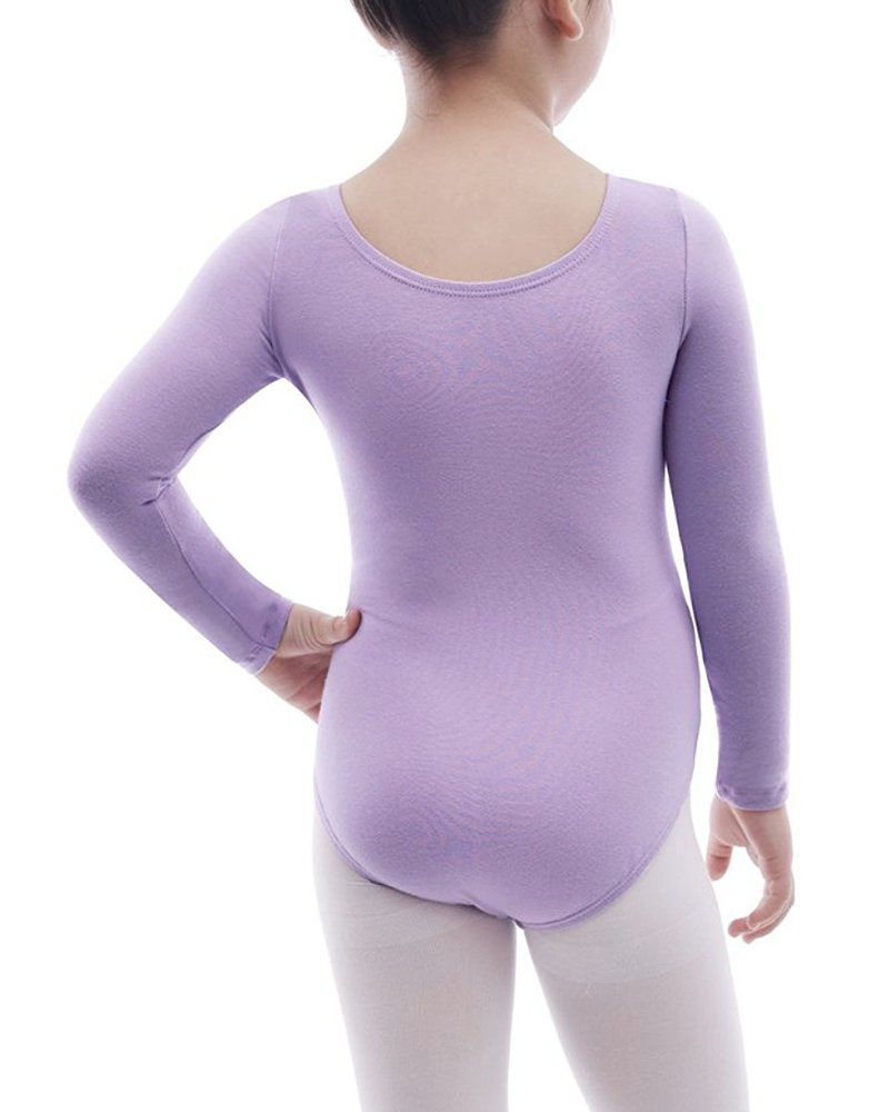 Imixcity Ragazza Leotard Manica Corta//Lunga Vestito Tutu Balletto Dancewear Body Ginnastica con Gonna Wrap-Round