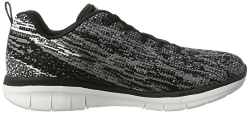 0 2 Skechers High Bleu Spirits Femme Synergy Baskets qwwr5ER