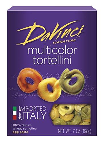 DaVinci Multicolor Tortellini, 7-Ounce Boxes (Pack of (Pasta 7 Ounce Box)