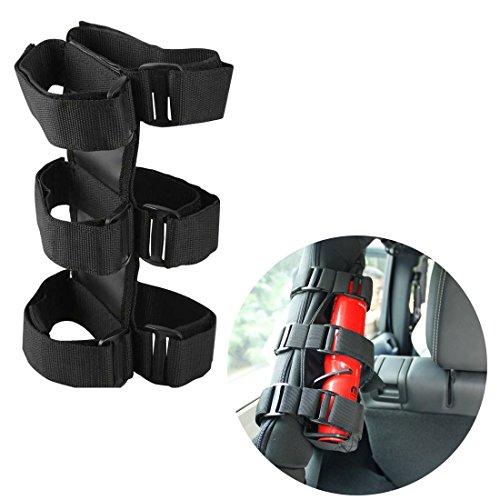 Bentolin-Fire-Extinguisher-Holder-ATVUTV-Interior-Roll-Bar-Trim-Kit-for-Jeep-Black