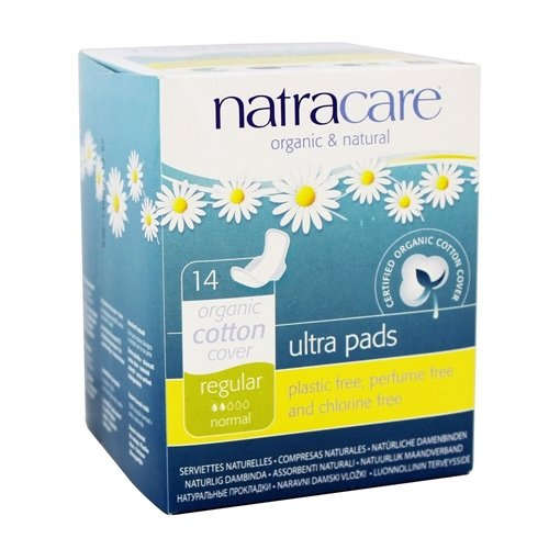 With Wings 14 ct  (2 Pack) (Natural Pads)