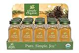 Simply Organic Cinnamon Holiday Counter-top Display 15-ct. - Single Item