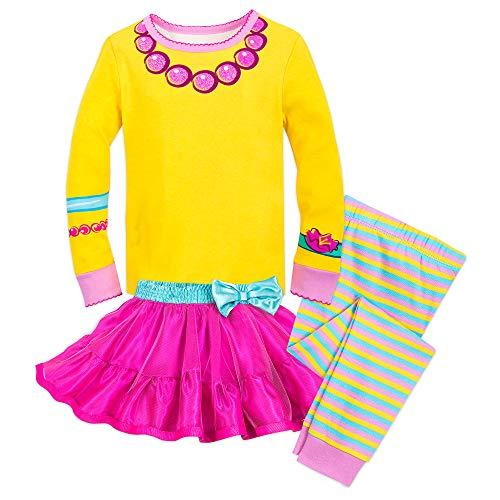 Disney Fancy Nancy Costume PJ PALS for Girls Size 3 Multi]()