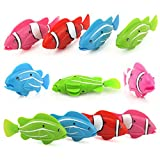 Joykit 4 Pcs Swimming Robot Fishes Activated in Water Magical Electronic Toy Kids Children Gift