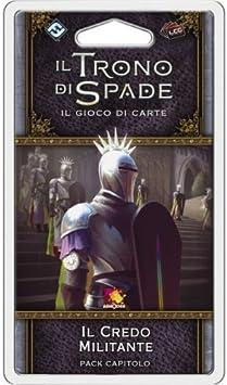 Asmodee Italia-Juego de Tronos LCG 2nd Ed. expansión El Creo Militante juego de mesa, color, 9233 , color/modelo surtido: Amazon.es: Juguetes y juegos