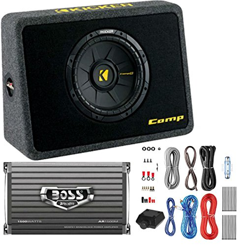Expert choice for 10in subwoofers with box and amp