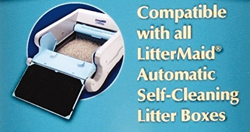 LitterMaid Disposable/Sealable Waste Receptacles, 12 Filters. 3 Pack