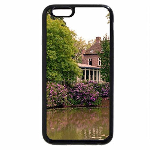 iPhone 6S / iPhone 6 Case (Black) House With a Pond