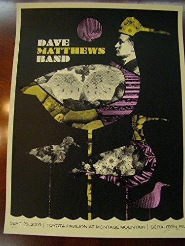- Dave Matthews Music Poster Dave Matthews Band Scranton 09 Methane