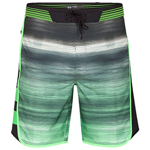 Hurley Men's Phantom Hyperweave Motion Fast Boardshorts, Rage Green, 33 by Hurley