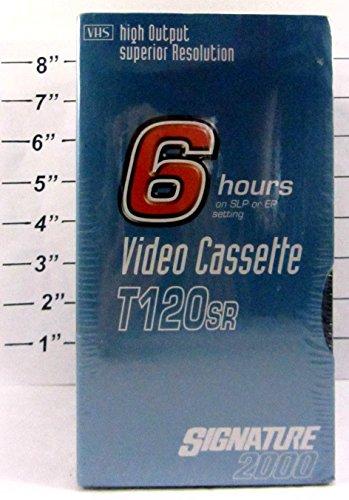 Signature 2000 T120SR 6 Hours Video Cassette