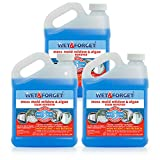 Wet and Forget Moss, Mold, Mildew & Algae Stain Remover .5 Gallon Concentrate Makes 3 Gallons - 3 Pack