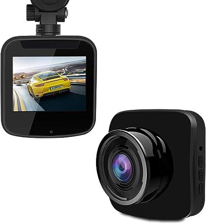 Super Night Vision HDR WDR Loop Recording,Emergency Recording G-Sensor Black Dash Cam- 1080P FHD Car Camera 2.3 LCD Screen 150/°Wide-Angle Car DVR with Sony Image Sensor
