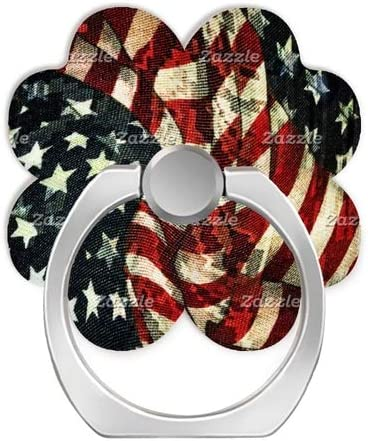 Universal Phone Grip Holder iPad and Tablet-American Flag Camouflage Expanding Grip Socket for Cellphones,Rotation Pop Grip Holder for Phones
