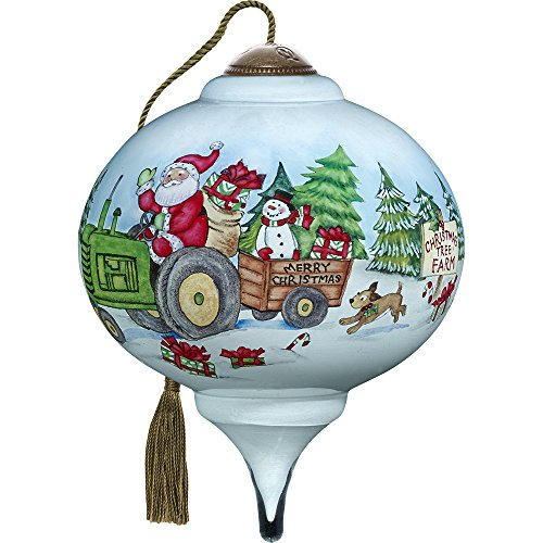 Ne'Qwa Santa's Tree Farm Ornament