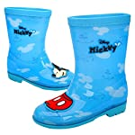 Disney Mickey Mouse Red Pants Boys Blue Rain Boot Shoes (Parallel Import/Generic Product)