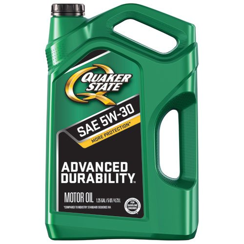 Quaker State 550044963 Advanced Durability 5W-30 Motor Oil (SN/GF-5), 5 quart
