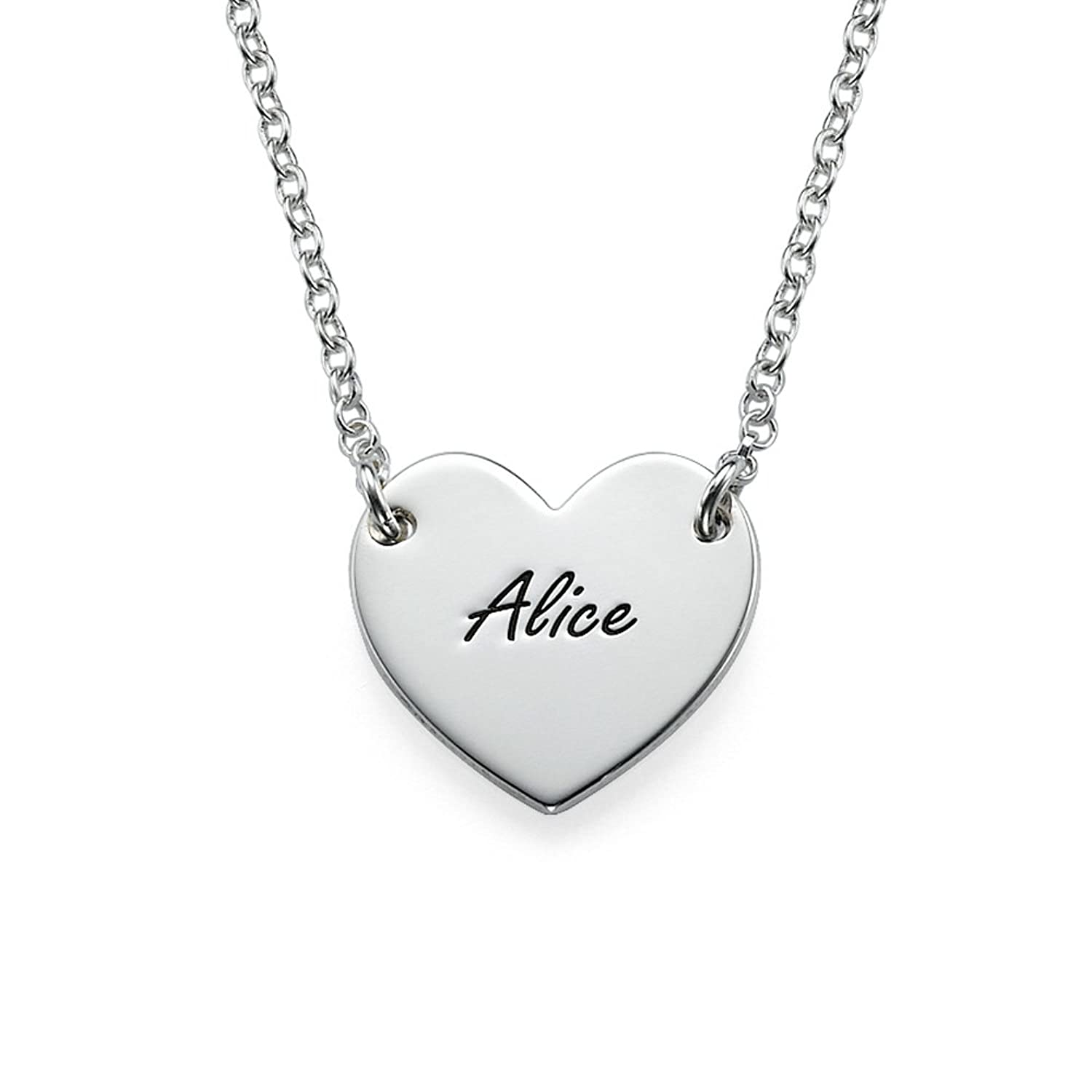 engraved jewelry neckalace ca necklace dogtag personalized photo custom pendant img
