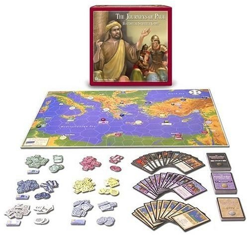 Journeys of Paul Board Game