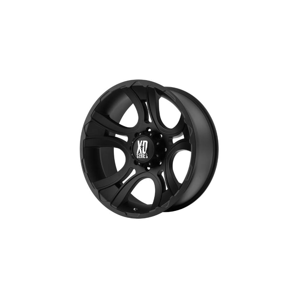17x9 KMC XD Crank (Matte Black) Wheels/Rims 8x180 (XD80179088700)
