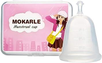 Copa Menstrual silicona grado médico saludable Menstrual Cup ...