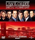 [DVD]Law & Order 性犯罪特捜班 シーズン1 バリューパック [DVD]