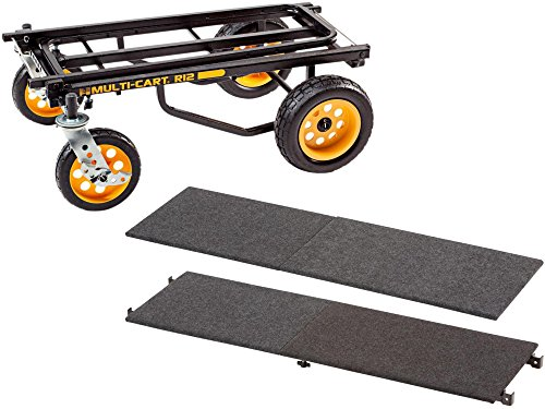 lti-Cart 8-in-1 Equipment Transporter Cart With Deck and Shelf ()