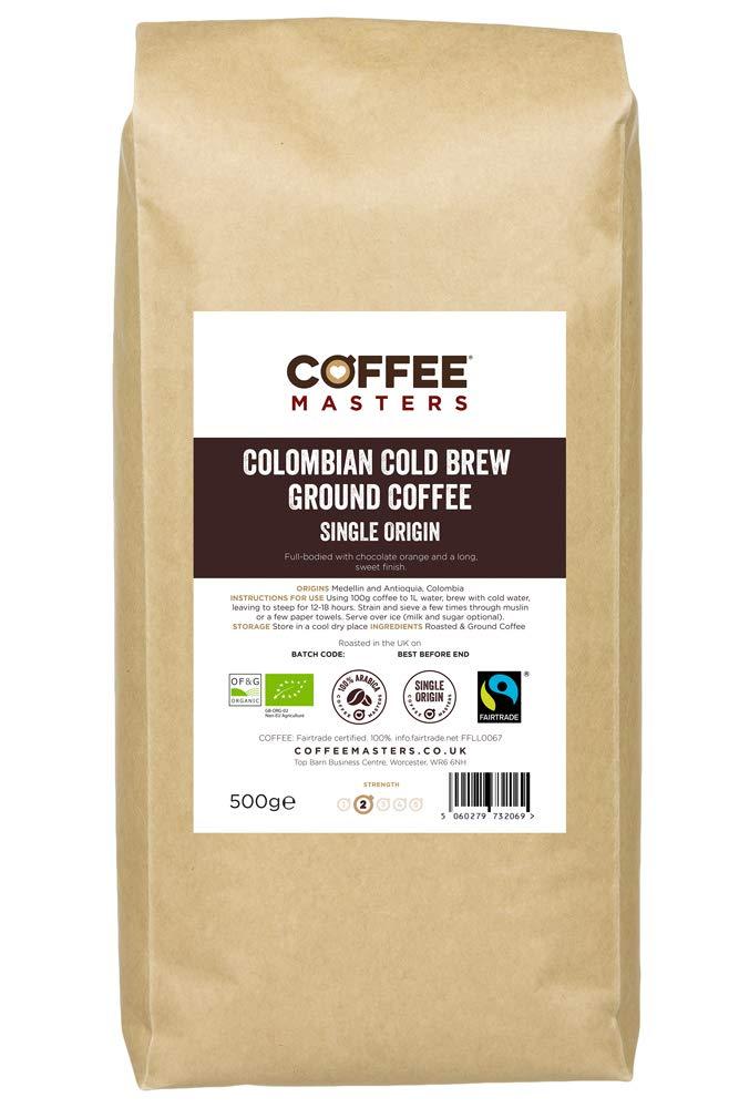 Coffee Masters Cold Brew Café Molido 500 g - Café Orgánico ...