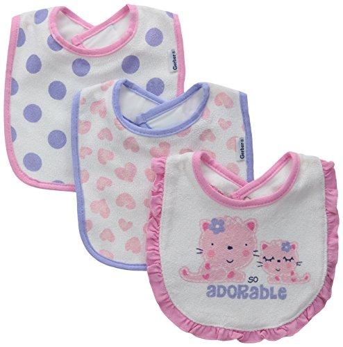 Gerber Baby Girls Terry Dribbler