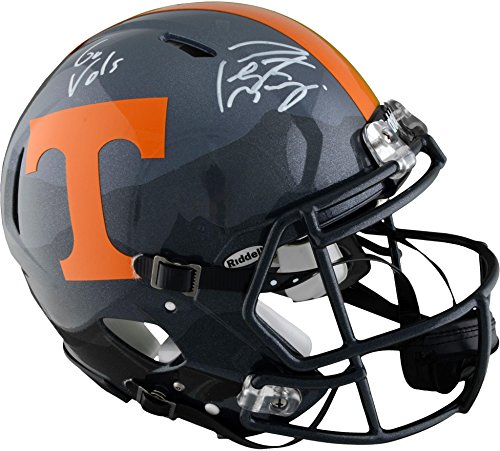 Peyton Manning Tennessee Volunteers Autographed Riddell Smoky Mountain Pro-Line Helmet with
