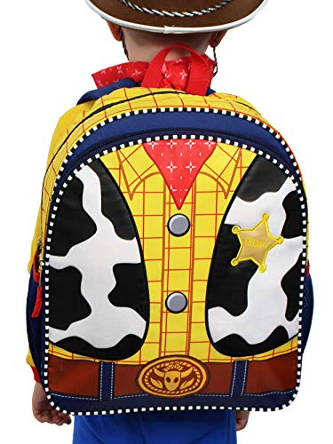 Toy Story Woody Kids 14 inch School Backpack Set (One Size, Yellow/Multi)