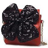 Bowknot Messenger Bag Kids Shoulder Bag Crossbody Handbag Fashion Kids Toddler Purse PU
