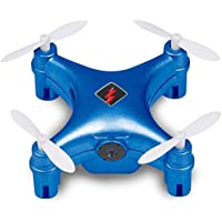 Qsmily Wtoys Q343 FPV Mini Drone 2.4G RC Quadcopter with WIFI HD Camera Automatic Air Pressure High Headless Mode (Blue)