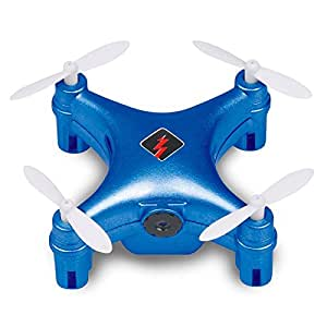 Qsmily Wtoys Q343 FPV Mini Drone 2.4G RC Quadcopter with WIFI HD Camera Automatic Air Pressure High Headless Mode (Blue)