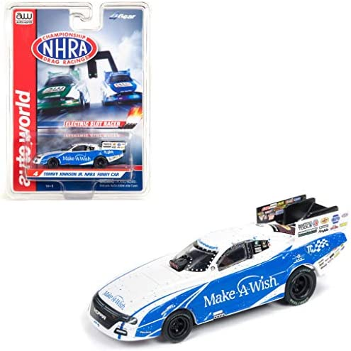 Auto World SC337-3 Tommy Johnson Make-A-Wish Clam Shell HOスケールスロット 面白い車