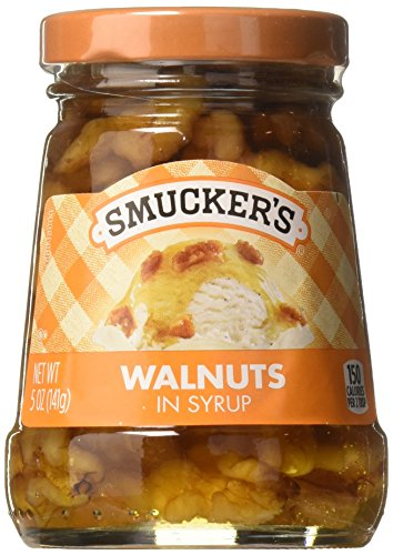 (Smucker's  Walnuts in Syrup Topping, 5-Ounce (Pack of 6))