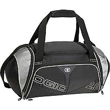 Ogio Endurance 2.0 Fitness Athlete Gym Bag (Black/Silver Silver)
