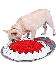 YGXICN snuffle mat Pet Dog Puzzel Speelgoed Langzaam Voedsel Mat Hond Snuffle Mat Slow Feeder Pad Voor Moedig Foerageren Vaardigheden Snuiven Zachte Mat (Kleur: Roze)