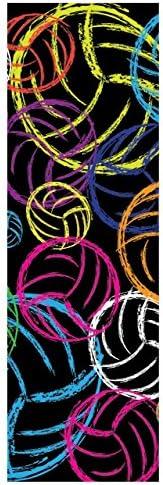 Tandem Sport Volleyball Headband, Neon